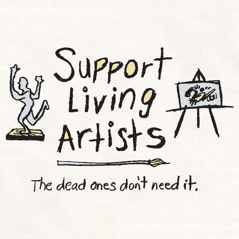Image result for support living artists